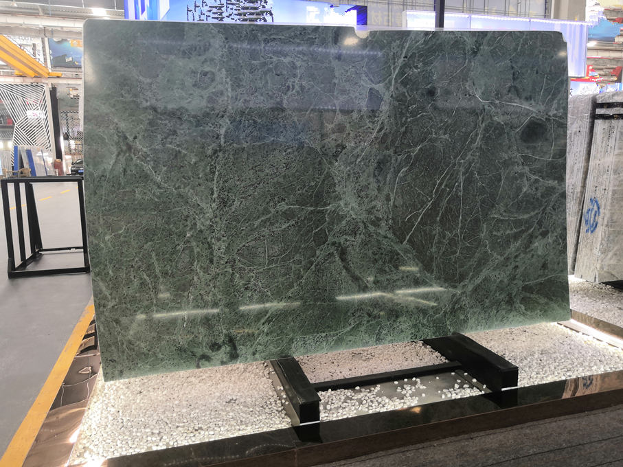Dark Green Serpentine Marble Slabs