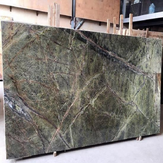 Forest Rain Green Marble