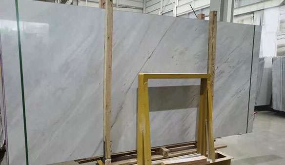 The Palissandro  White and Statuario slabs were loaded !
